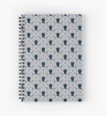 Arya Stark Silhouette Spiral Notebook