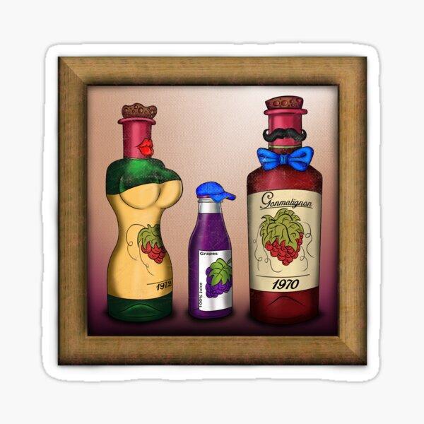 The Vineyards family Sticker