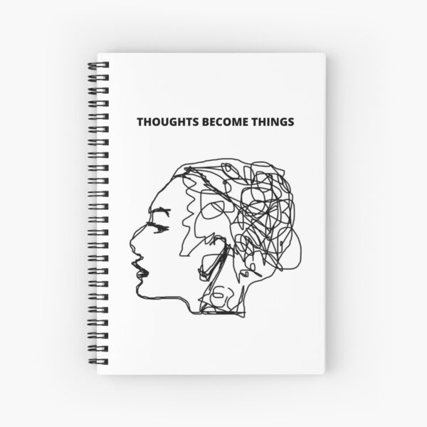 The Law Of Attraction Spiral Notebook
