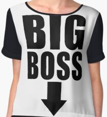 Big Boss Chiffon Top