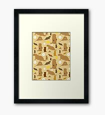 Groundhogs Framed Print