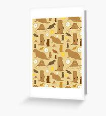 Groundhogs Greeting Card