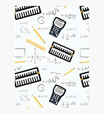 Math Photographic Print