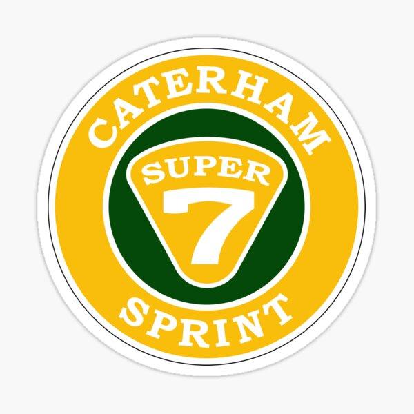 Caterham Super Sticker