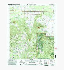 USGS TOPO Map Alabama AL Newburg 304677 2000 24000 Photographic Print