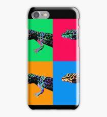 Warhol Gecko iPhone Case/Skin