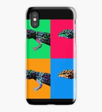 Warhol Gecko iPhone Case/Skin