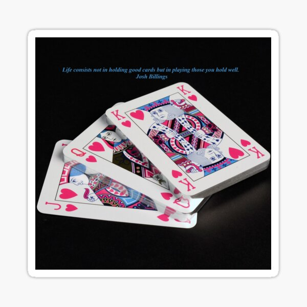 Life Cards Sticker