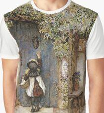 Vintage famous art - Arthur Hopkins - The Visitor  Graphic T-Shirt