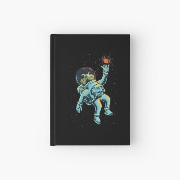 Astronaut Frog Hardcover Journal