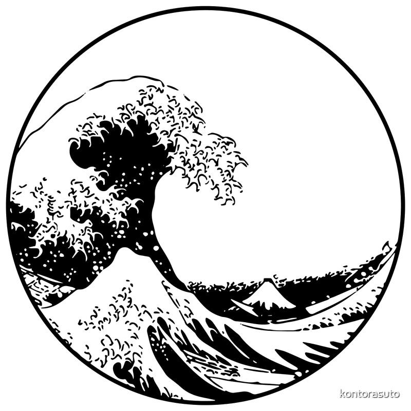 """The Great Wave off Kanagawa"" Art Prints by kontorasuto ..."