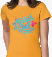 Mentats & Chill Womens Fitted T-Shirt