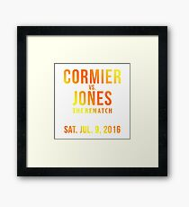 Jon Jones UFC 200 Framed Print