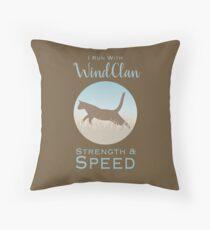 WindClan Pride Throw Pillow