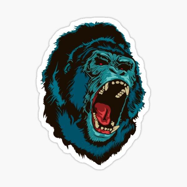 Gorilla Kong Sticker