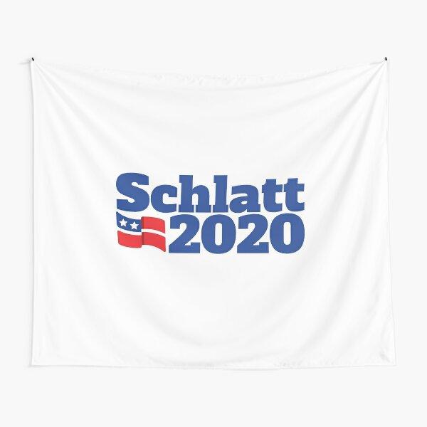 Schlatt 2020 Campaign Logo Tapestry