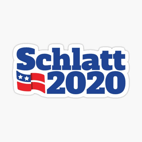 Schlatt 2020 Campaign Logo Sticker