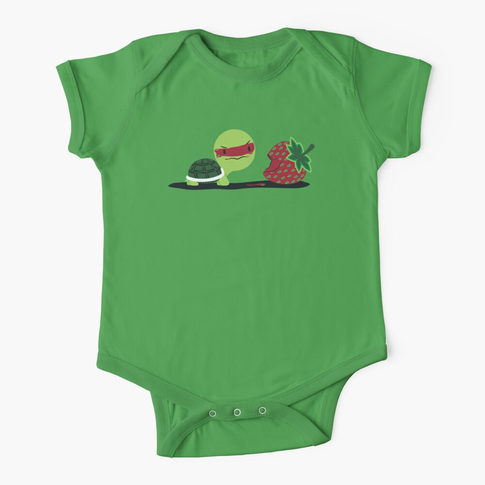Strawberry Turtle Baby One-Piece