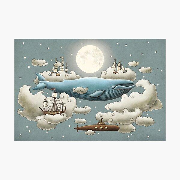 Ocean Meets Sky  Photographic Print