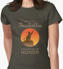 ThunderClan Pride Women's Fitted T-Shirt