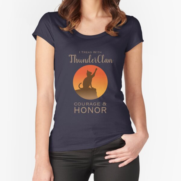 ThunderClan Pride Fitted Scoop T-Shirt