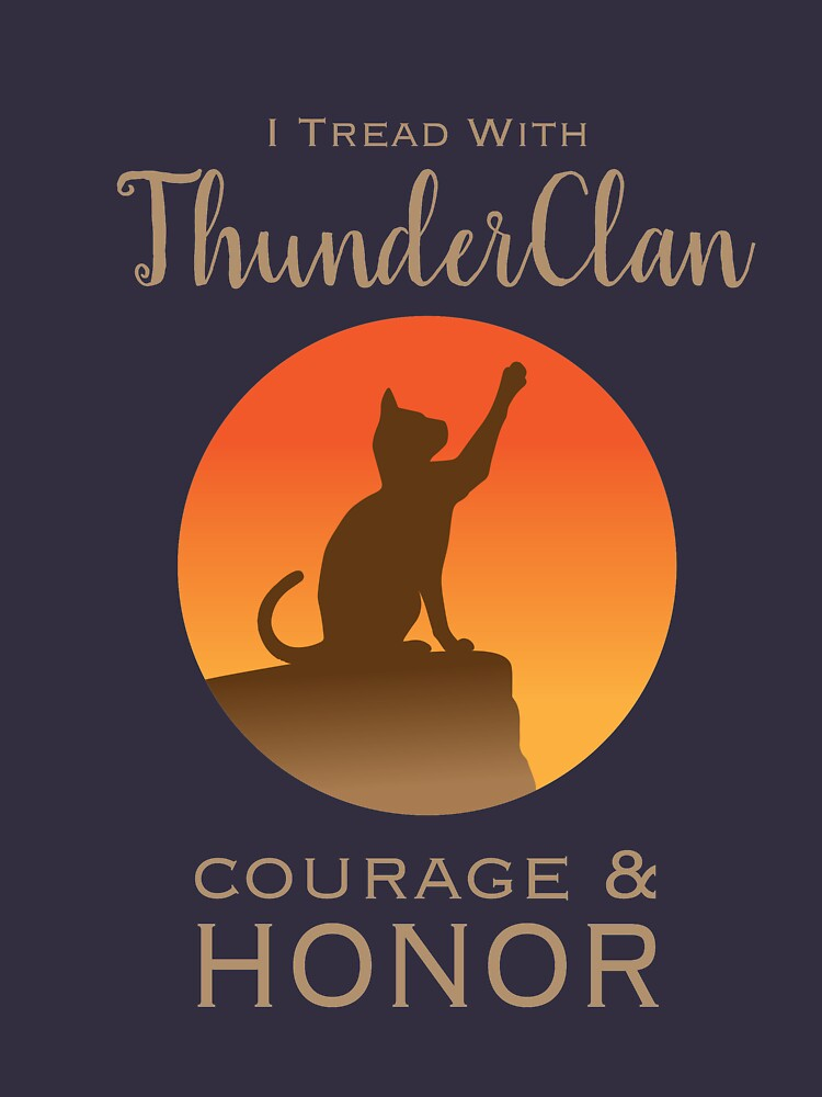 ThunderClan Pride | Women's Fitted Scoop T-Shirt