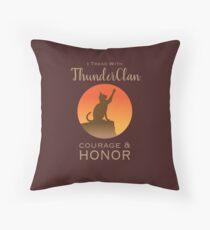 ThunderClan Pride Throw Pillow