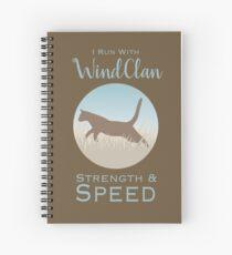 Cuaderno de espiral WindClan Pride
