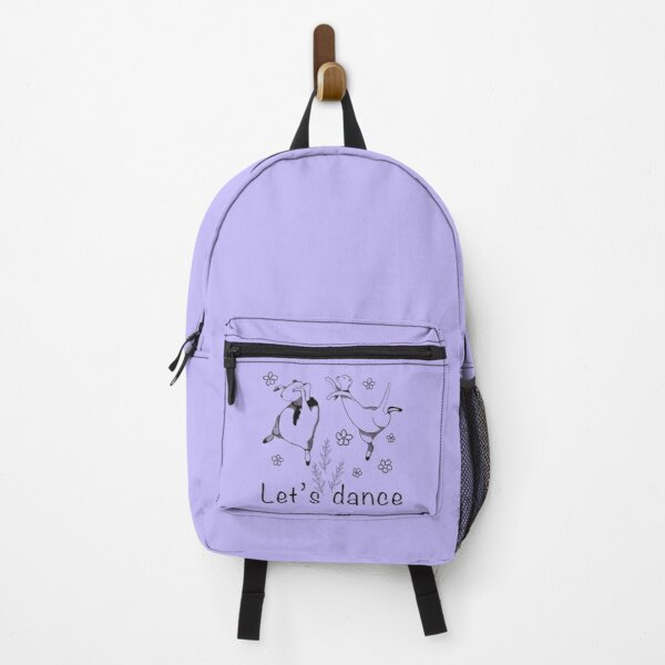 Let's Dance Otter and Guinea Pig Backpack