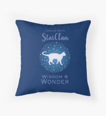 StarClan Dreams Throw Pillow