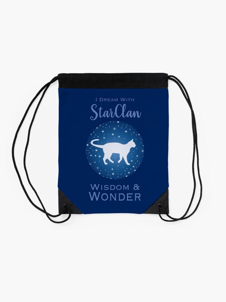 Alternate view of StarClan Dreams Drawstring Bag