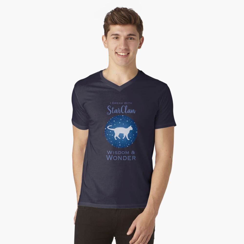 StarClan Dreams V-Neck T-Shirt