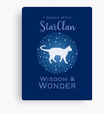 StarClan Dreams Canvas Print