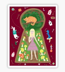 Alice (Fairy Tale Fashion Series #4) Sticker