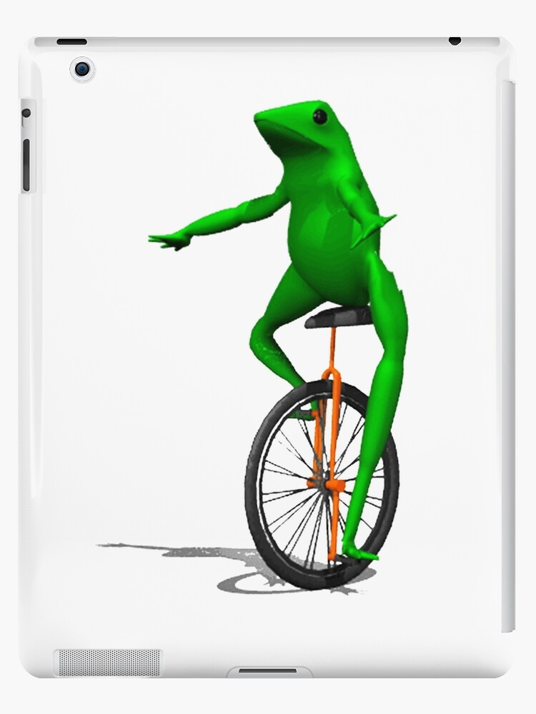 dat boi frog meme internet pepe rare ipad cases skins by