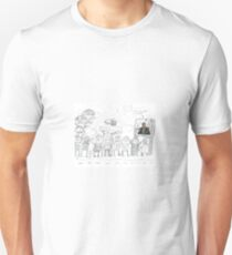 Trump Immigrant Teleporter Unisex T-Shirt