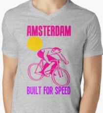 AMSTERDAM Mens V-Neck T-Shirt
