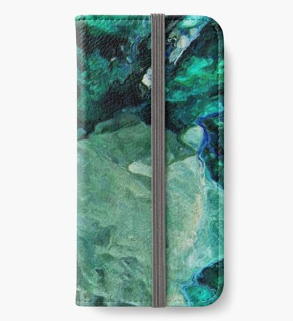 Mountain Ice iPhone Wallet
