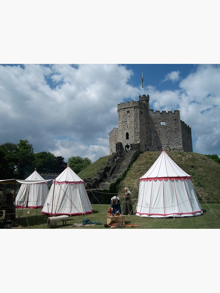 Cardiff Castle Encampment by douglasewelch