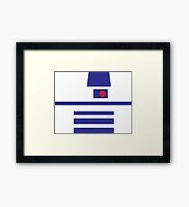 Minimal R2D2 Framed Print
