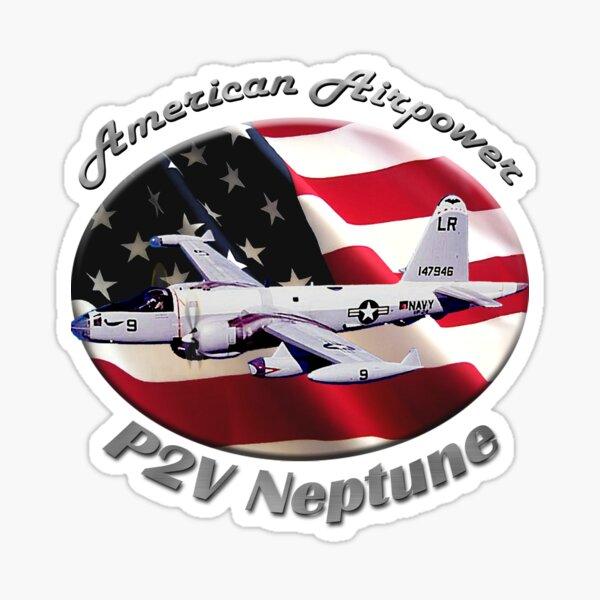 P2V Neptune American Airpower Sticker