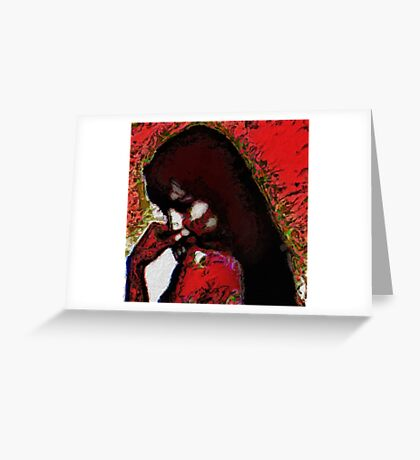 Considering Greeting Card