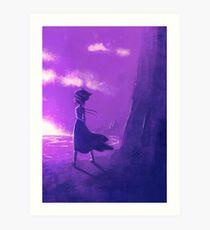 Lámina artística Steven Universe: junto al mar