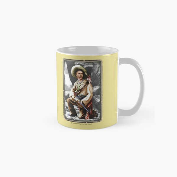 Karl May in Costume ~ mug only - by tasmanianartist for Karl May Friends Classic Mug
