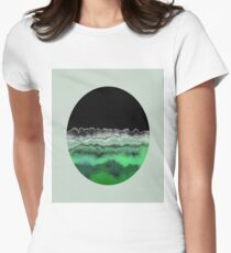 Emerald Decay Women's Fitted T-Shirt