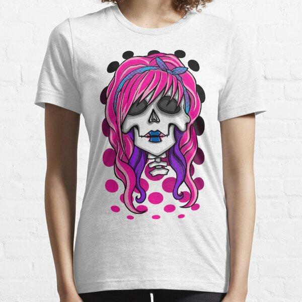 'Rockabilly Skull' Essential T-Shirt