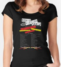 Sonic Fiction Fest 2: Eclectic Boogaloo Women's Fitted Scoop T-Shirt