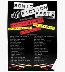 Sonic Fiction Fest 2: Eclectic Boogaloo Poster