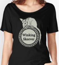 The Winking Skeever Women's Relaxed Fit T-Shirt