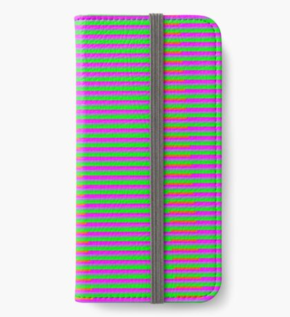 Interference Pattern iPhone Wallet